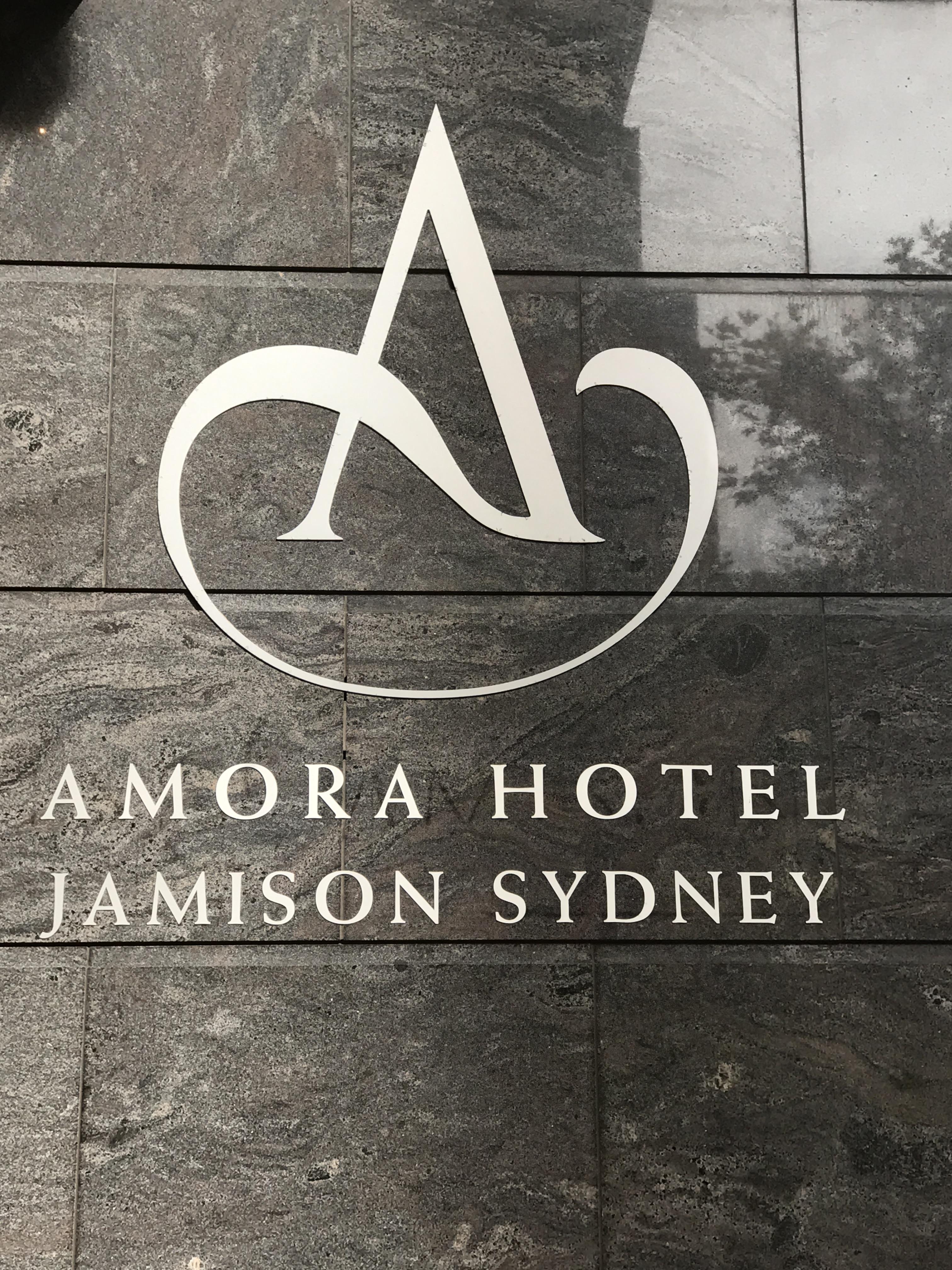 Amora Hotel Jamison Sydney Logo