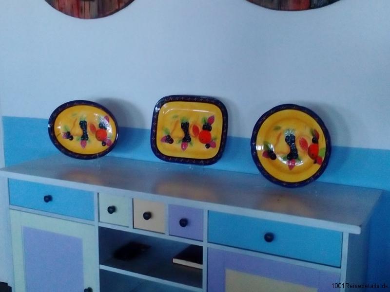 Spanische Keramik Verkauf in Shortys Beach Club