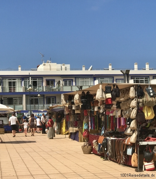 Markt in Mogan