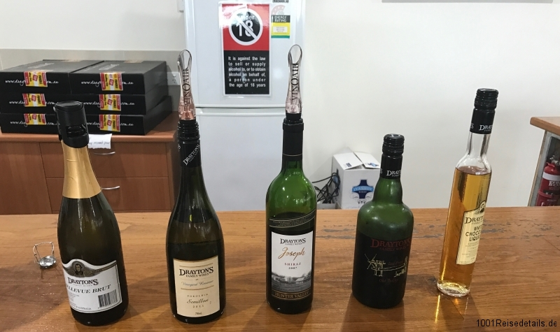 Huntervalley Draytons Weingut