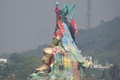 Dragon Tiger Tower Lotuspond Kaohsiung Taiwan