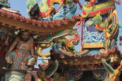 Tempel Drachen & Tiger Pagoden am Lotussee in Kaohsiung Taiwan