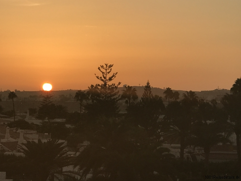 Sol Barbacan Ausblick Sonnenuntergang