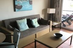 Sol Barbacan Apartment Wohnraum