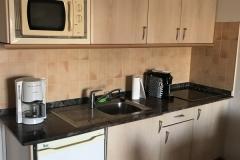 Sol Barbacan Apartment Küche