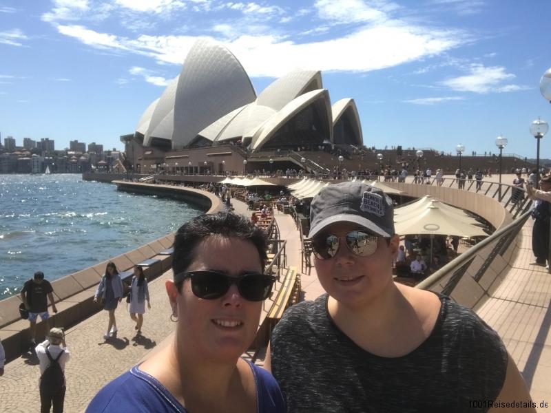 Sightseeing Sydney